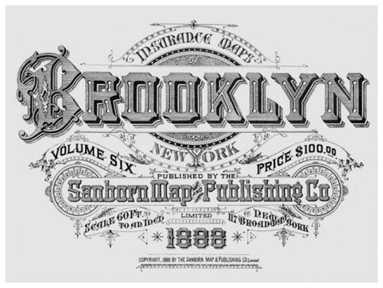 Brooklyn Vintage Typography Design