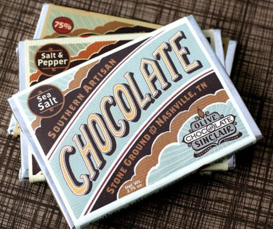 Chocolate Vintage Typography Design