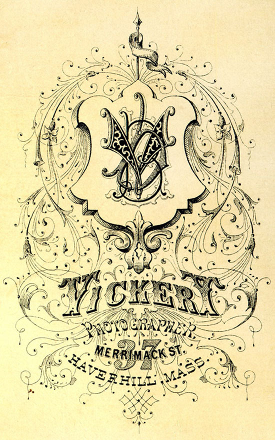Vickery Vintage Typography Design