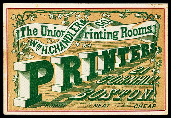 3D Vintage type Vintage Typography Design