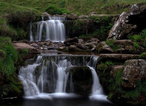 Wales Waterfall - Relaxing Waterscapes Photography