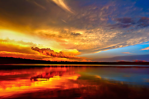 Heaven and Hell - Relaxing Waterscapes Photography