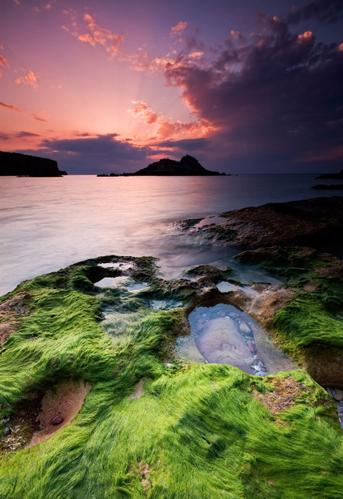 Lost in colours - Relaxing Waterscapes Photography