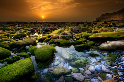 Waiting for the sun - Relaxing Waterscapes Photography