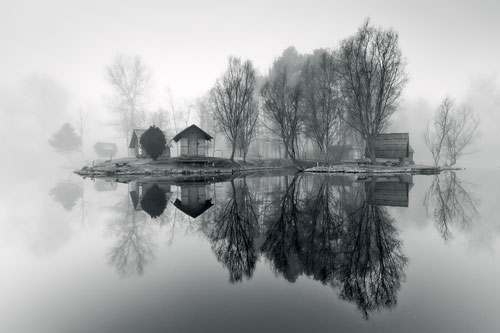 Through the misty air - Relaxing Waterscapes Photography