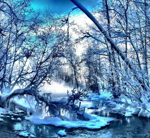 Winter wonderland - Relaxing Waterscapes Photography