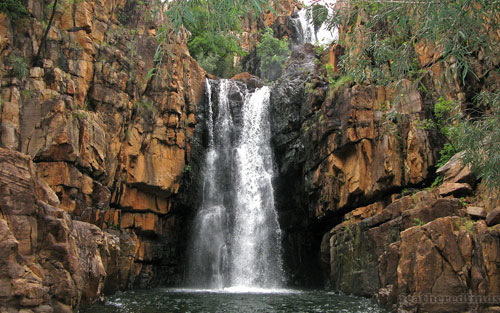 Katherine Gorge Waterfall wallpaper