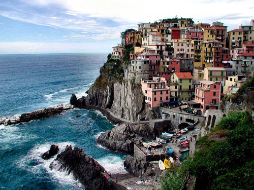 Manarola Italy wallpaper