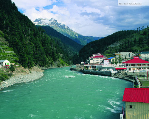 River Swat Kalam, Pakistan wallpaper