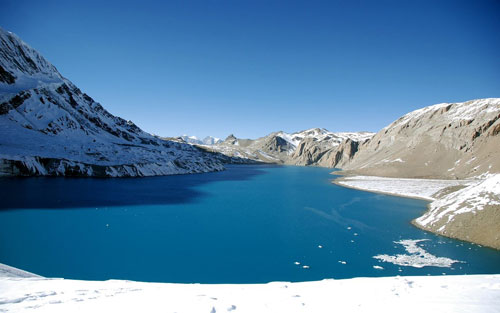 Tilicho Lake Widescreen wallpaper