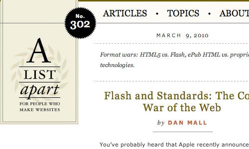 A list Apart : Blog Untuk Web Development Yang Perlu Anda Kunjungi