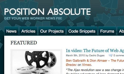 Position Absolute : Blog Untuk Web Development Yang Perlu Anda Kunjungi