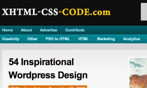 XHTML-CSS-CODE.com : Blog Untuk Web Development Yang Perlu Anda Kunjungi
