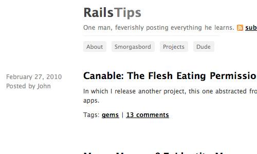 RailsTips : Blog Untuk Web Development Yang Perlu Anda Kunjungi