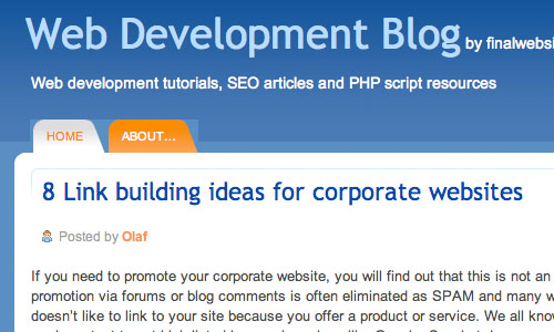 Web Development Blog: Blog Untuk Web Development Yang Perlu Anda Kunjungi