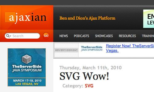 Ajaxian : Blog Untuk Web Development Yang Perlu Anda Kunjungi