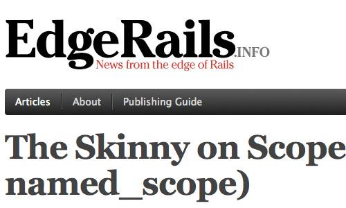EdgeRails : Blog Untuk Web Development Yang Perlu Anda Kunjungi