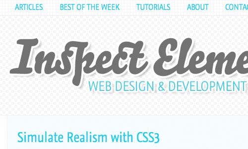 Inspect Element : Blog Untuk Web Development Yang Perlu Anda Kunjungi