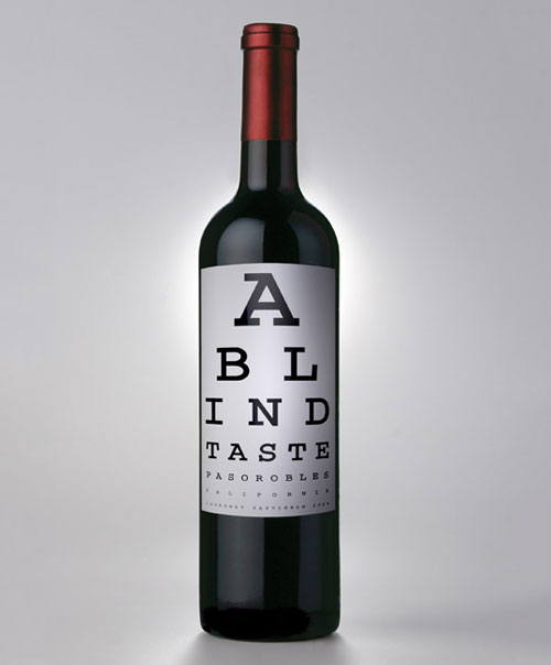 A Blind Taste Package Design Inspiration
