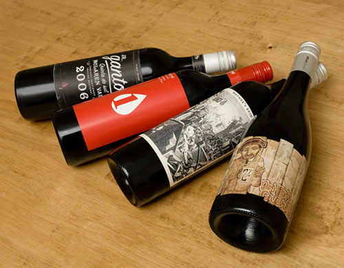First Drop Wines Package Design Inspiration
