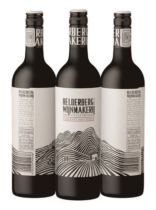 Helderberg Wijnmakerij Package Design Inspiration