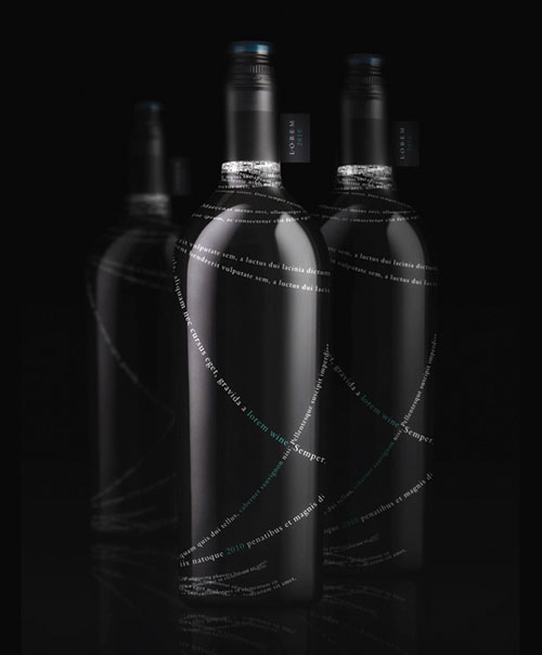 Lorem Wine Package Design Inspiration