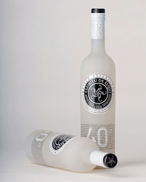 Pisco Wine Package Design Inspiration