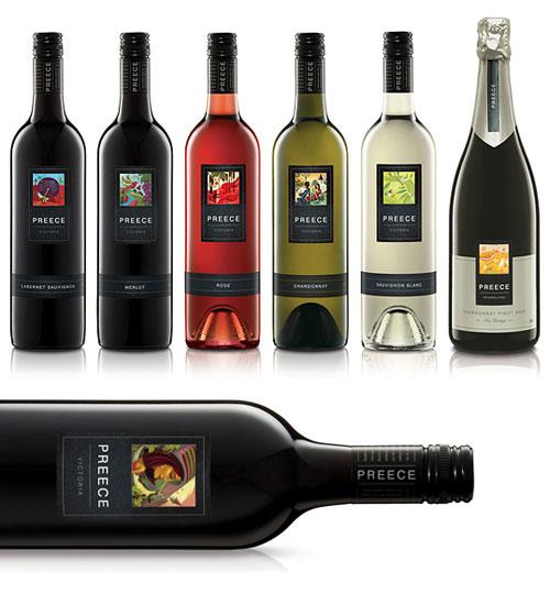 Preece Wines Package Design Inspiration