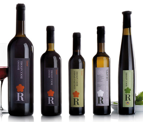 Roccafiore Package Design Inspiration