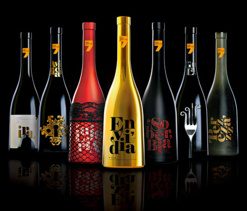 Siete Pecados Package Design Inspiration