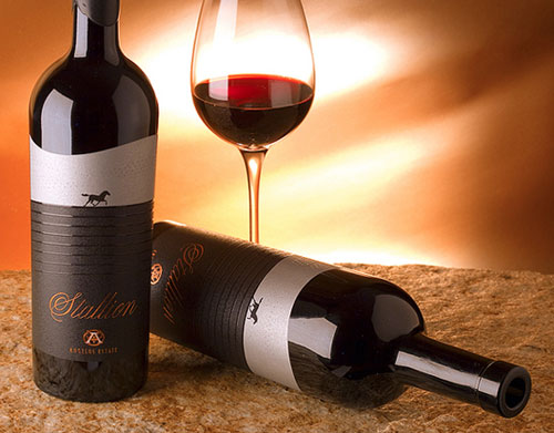 The Stallion Wine Package Design Inspiration