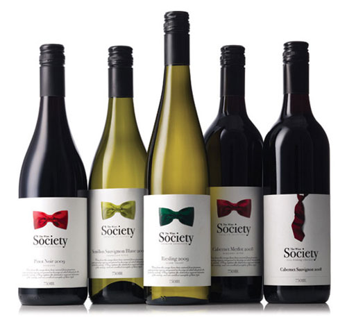 The Wine Society Package Design Inspiration