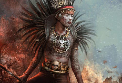 Making Of Ibaloy Warrior Photoshop Tutorial
