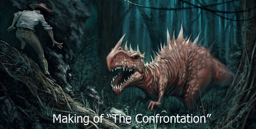 Making of The Confrontation Photoshop Tutorial