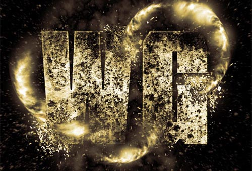 Create an Exploding Light Text Effect in Photoshop Tutorial