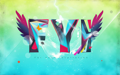 How to Create a Colorful Text Design in Photoshop Tutorial