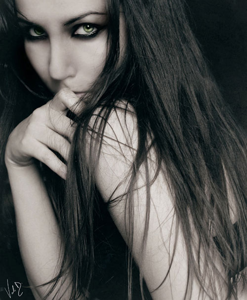 The Witch woman photography