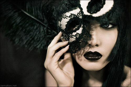 Behind the Mask woman photography