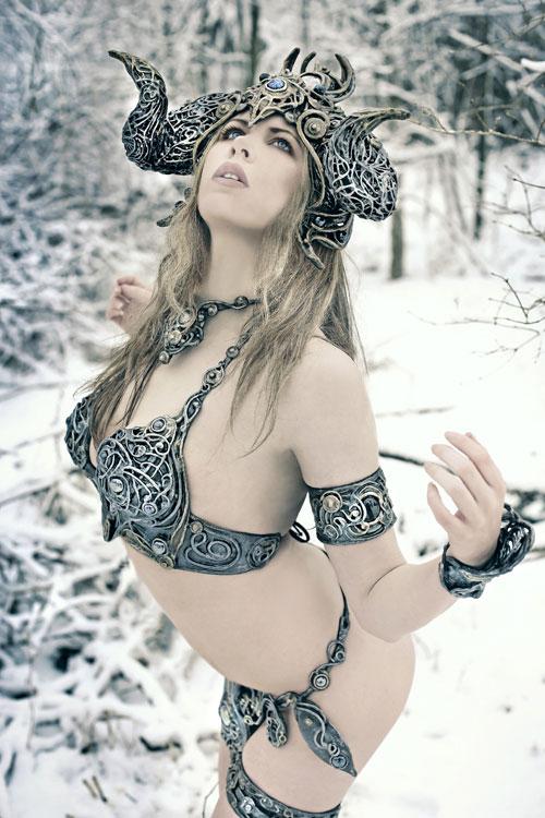 Sacrificial woman photography