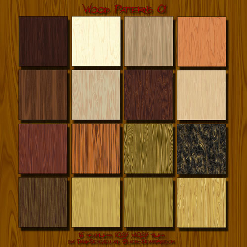 Wood-01 Patterns by ~silver-
