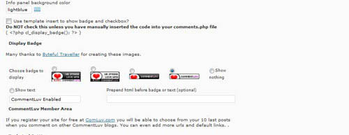 commentluv wordpress plugin