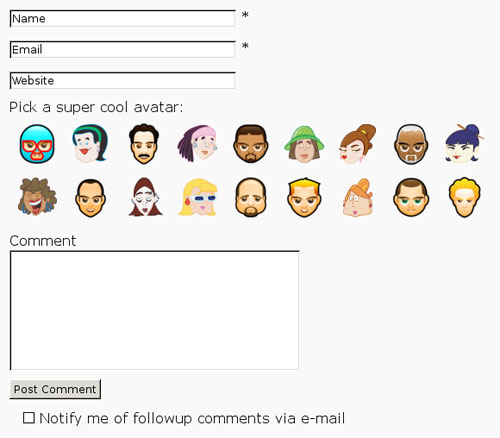 custom avatars wordpress plugin