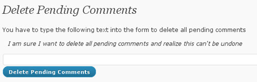 delete pending wordpress plugin