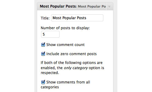 most popular posts wordpress plugin