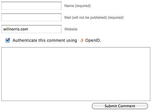 openid wordpress plugin