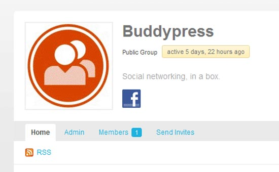 BuddyPress Facebook