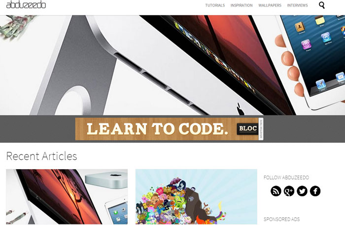 abduzeedo.com Web Design Blog