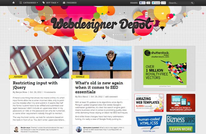 webdesignerdepot.com Web Design Blog