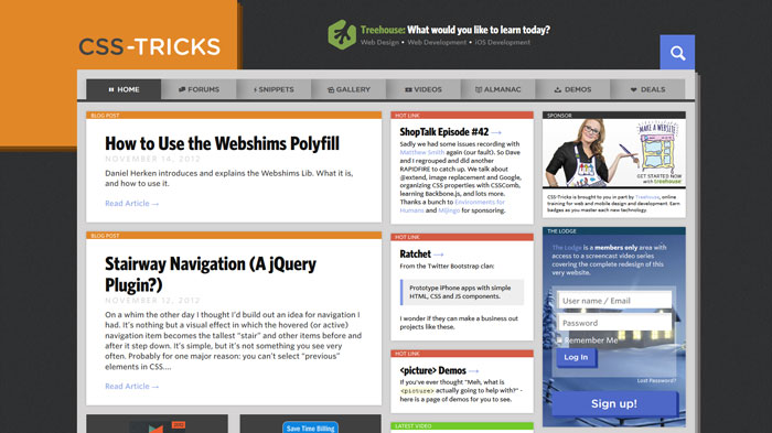 css-tricks.com Web Design Blog