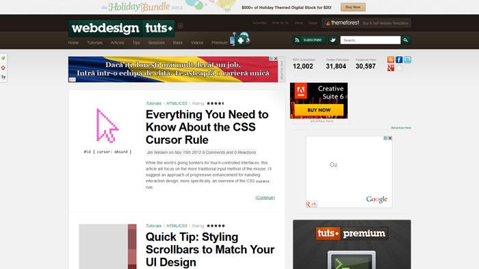 webdesign.tutsplus.com Web Design Blog